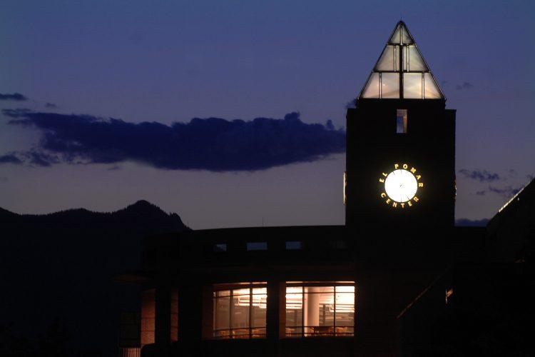 El Pomar Center bell tower