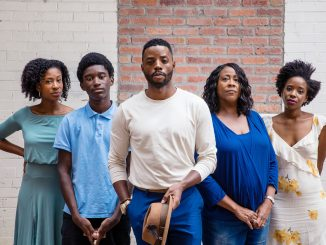 The cast of A Raisin in the Sun
