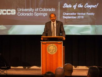 Reddy delivers the State of the Campus address
