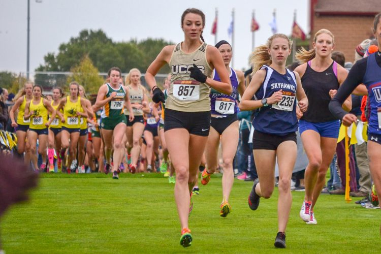 Kayla Wooten at the Griak Invitational