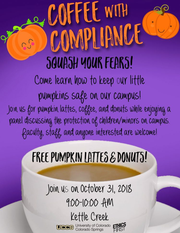 Coffee with Compliance flyer