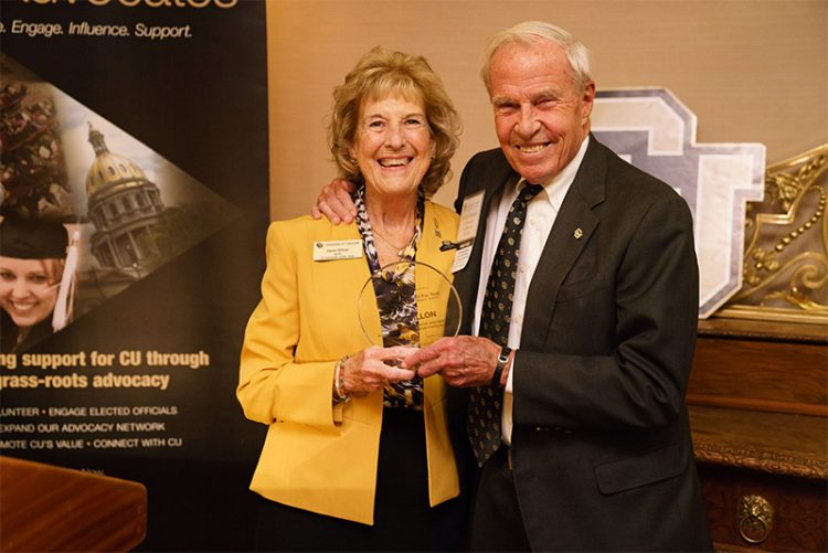 Jane Dillon named CU Advocate of the Year