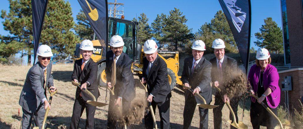 Groundbreaking for Hybl Center