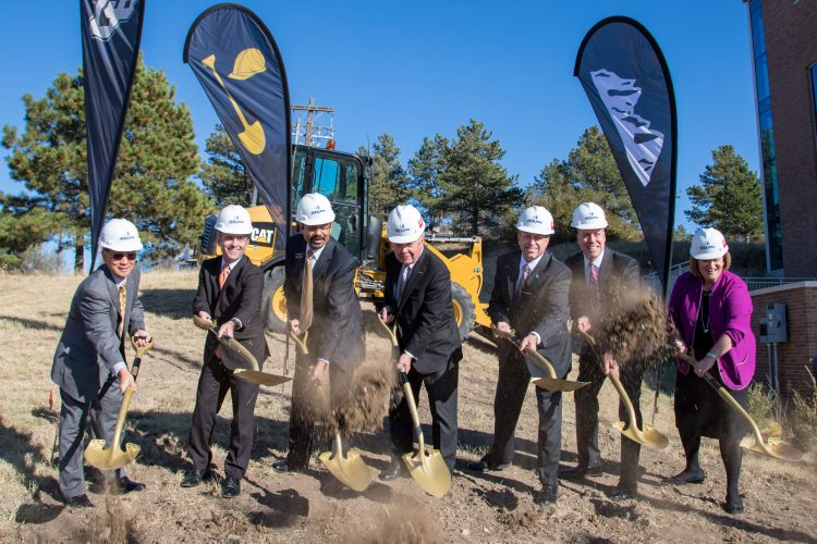 Groundbreaking for Hybl Center