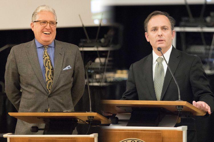 Steve Ludwig and Kyle Hybl