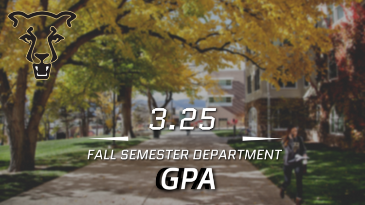 Athletic GPA graphic for fall 2018