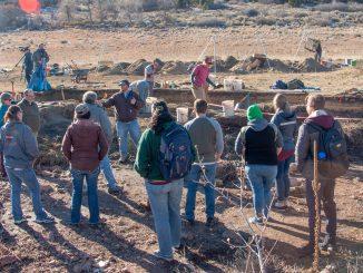 Prouty provides site tour