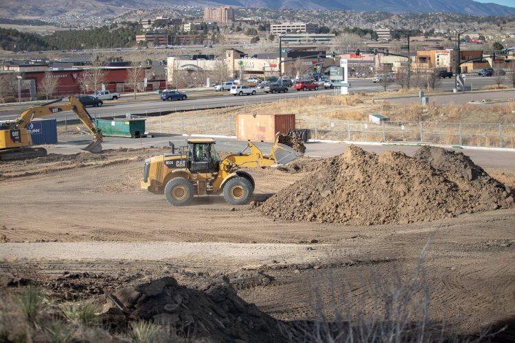 Hybl Center construction