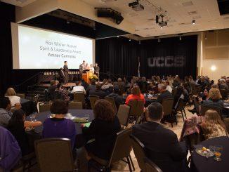 2018 Campus Awards ceremony