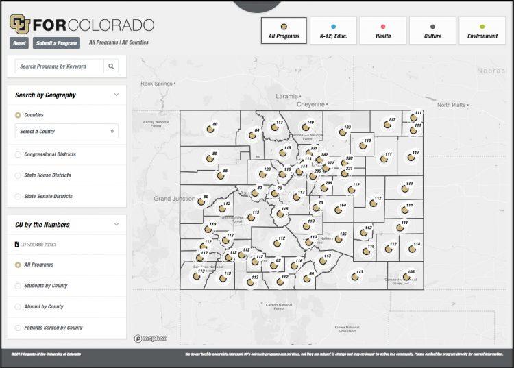 CU for Colorado screenshot