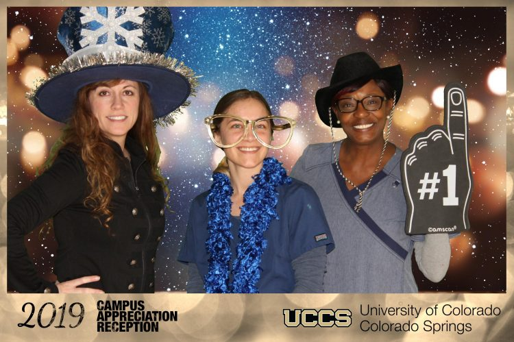 Photo booth from the Campus Appreciation Reception