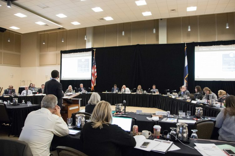 November 2018 Board of Regents meeting