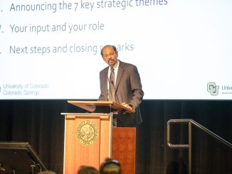 Chancellor Reddy leads the Strategic Plan Town Halls