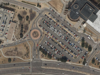 Roundabout at Regent Circle