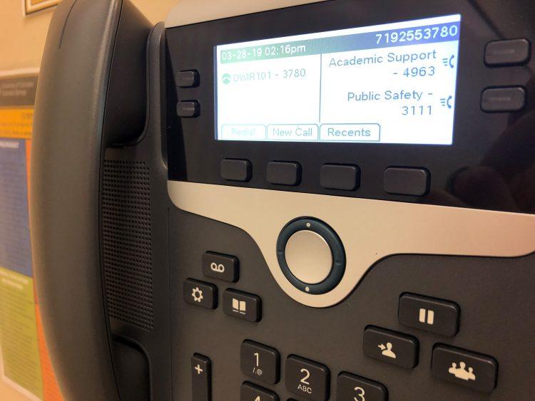 New Cisco classroom phones