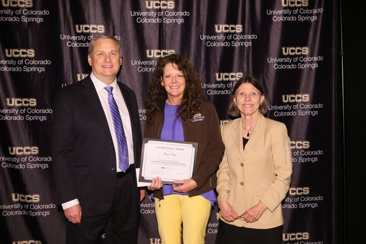 Faculty Assembly Service Award recipient Monique French