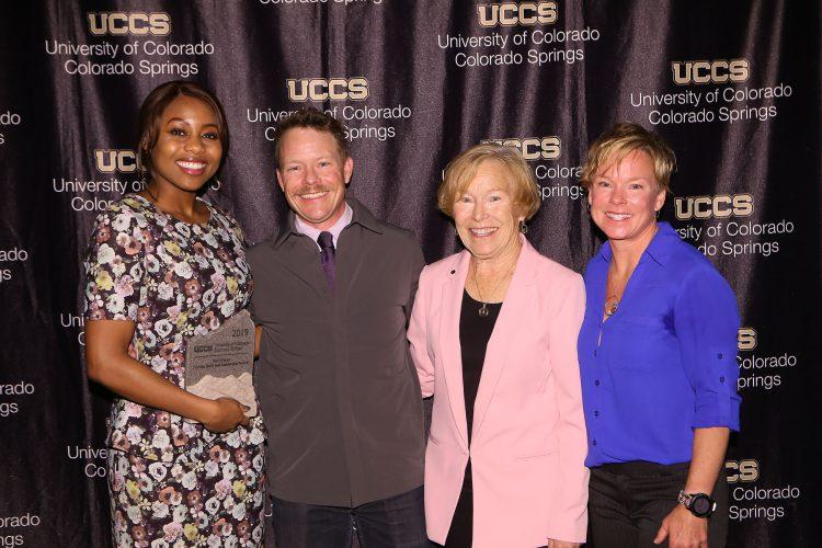 Ron Wisner Human Spirit and Leadership Award recipient