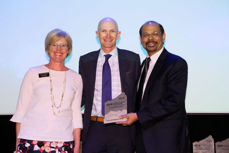 Alumni and Friends Award recipient