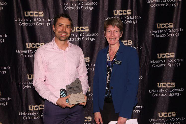 Outstanding Teacher Award recipient