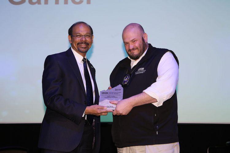 Garrett Swasey Outstanding Staff Award recipient