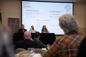 Panel discussion at ethics summit