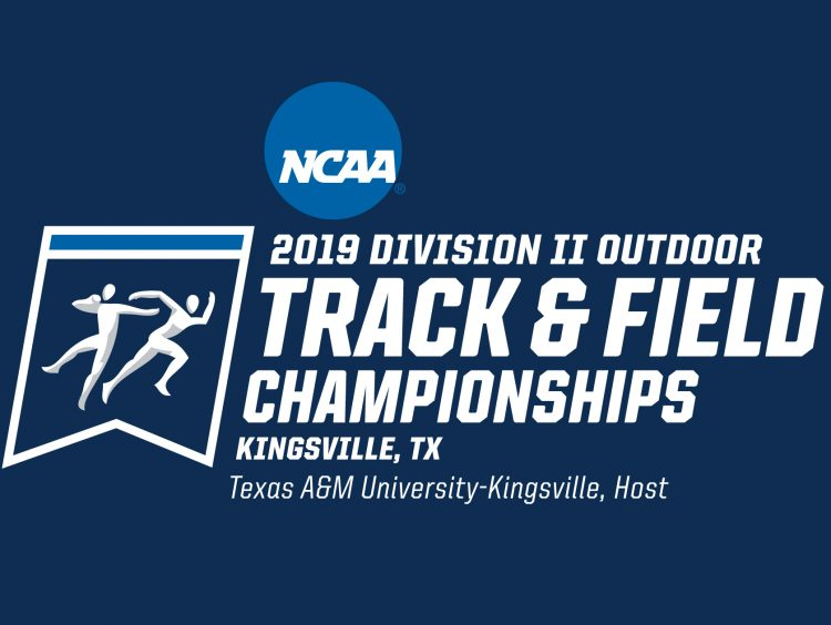 2019 NCAA Division II Outdoor Track and Field Championships logo
