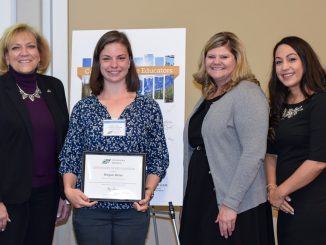 Megan Heier recognized on Future Educator Honor ROll