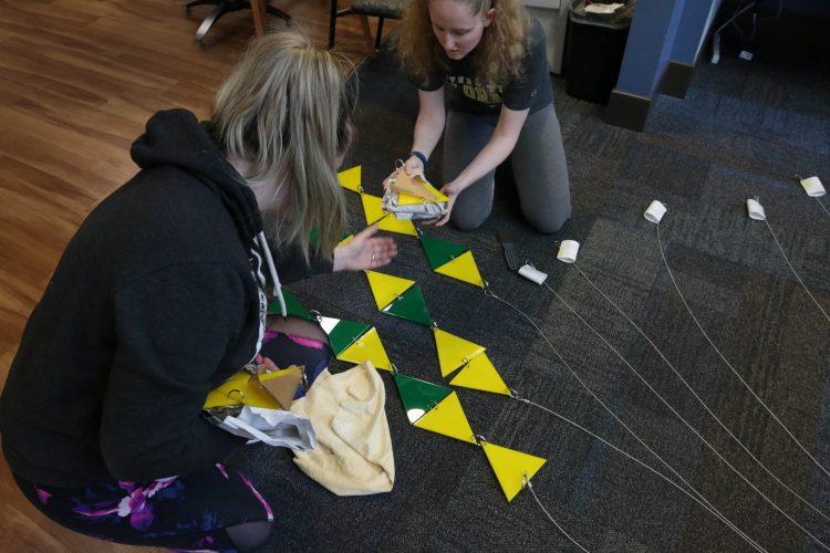 VAPA students prepare to install