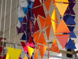 Ascension, student installation