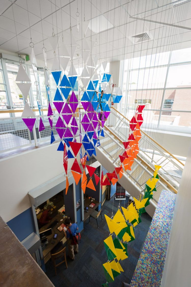 Ascension installation opening in University Center May 16