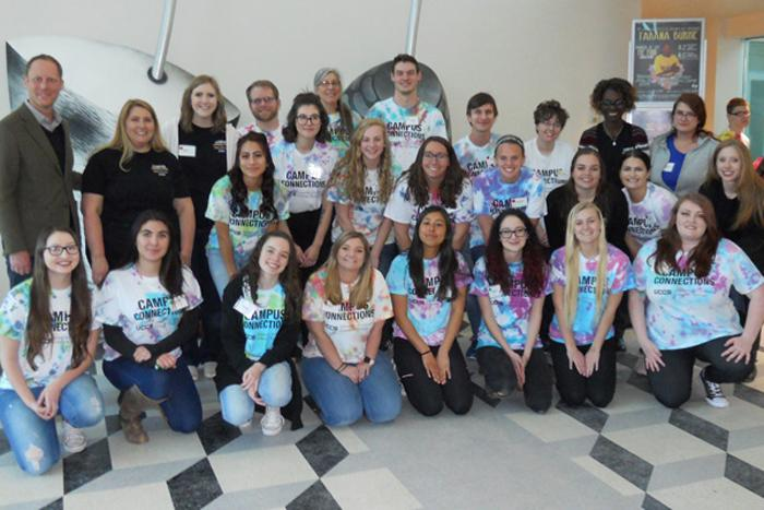 Spring 2019 Campus Connections participants and mentors