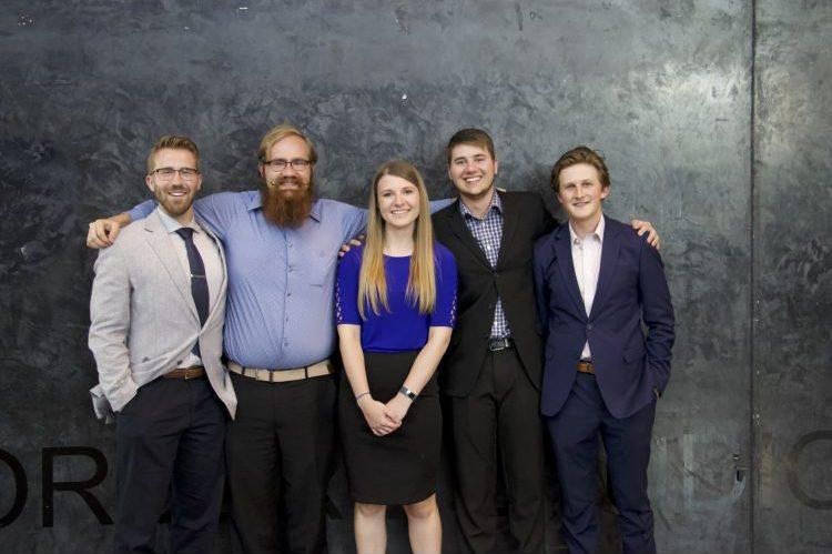 Quad Innovation Partnership students