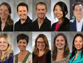 Faculty who received tenure in 2019