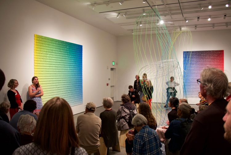 Color Theory artist talk at GOCA
