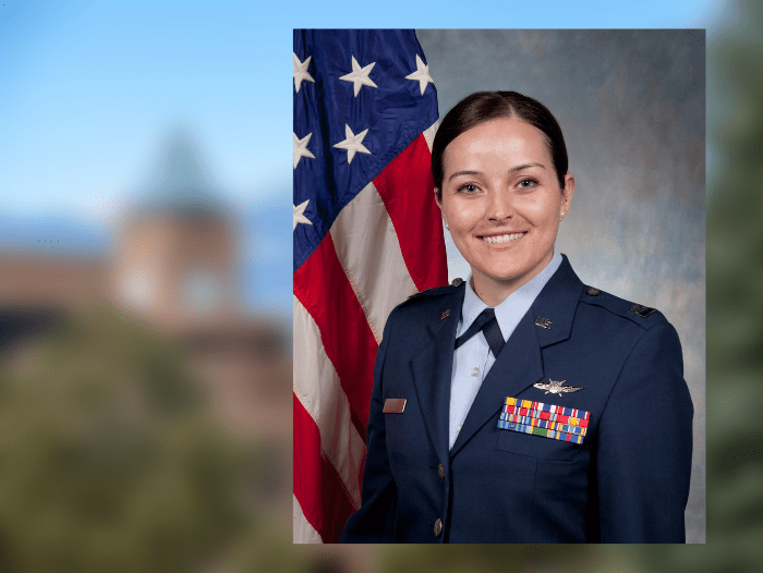 Ortiz returns to Air Force roots as first UCCS Ph D  graduate of