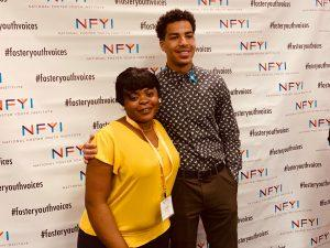 "Astride Mukabagula with Marcus Scribner of ""Black-ish"""