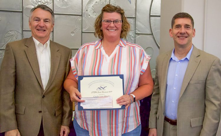 CindyLou Merlo receives an AFCEA grant award
