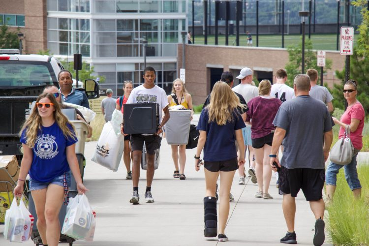 Move-in day round two began at noon near Roaring Fork for the Village at Alpine Valley.