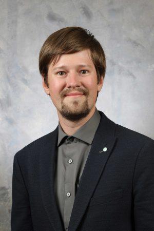 Headshot of Dmytro Bozhko