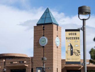 The El Pomar clock tower