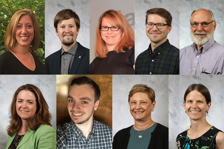New faculty members from the College of Letters, Arts & Sciences