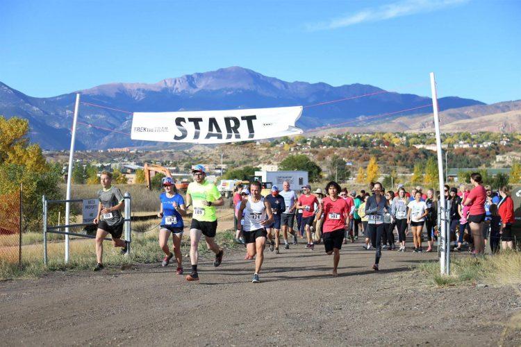 Start of the Trek the Trail 5K