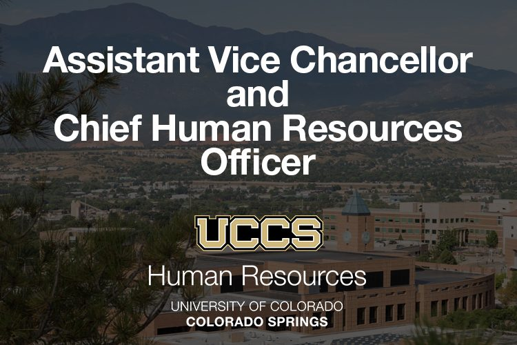Assistant Vice Chancellor and Chief Human Resources Officer graphic