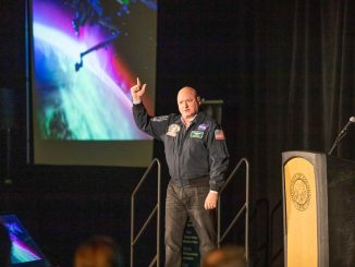 Scott Kelly on campus