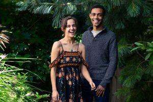 Rachel Moore and Justin Jones