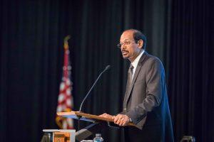 Chancellor Reddy delivers the 2019 State of the Campus address