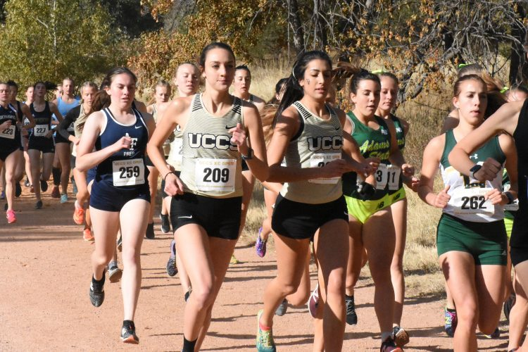 Kayla Wooten and Layla Almasri at the UCCS Open