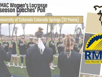 2020 RMAC women's lacrosse preseason graphic