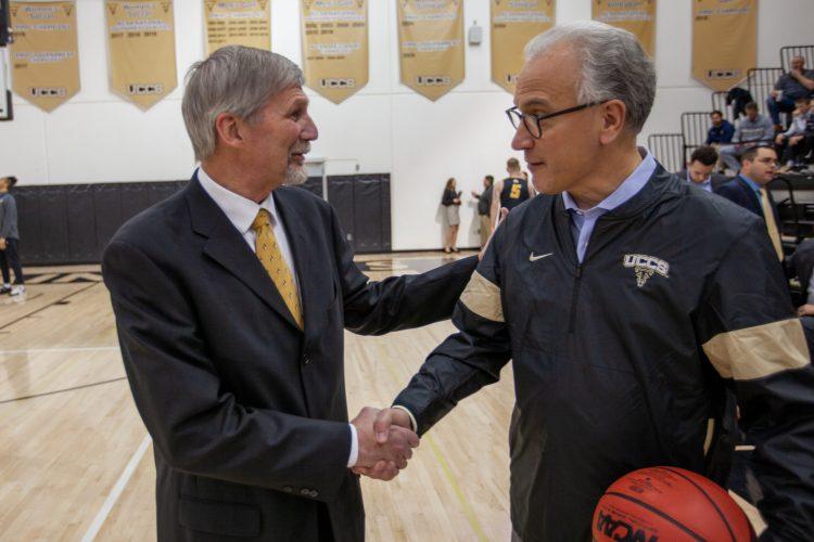 President Kennedy and Coach Plett