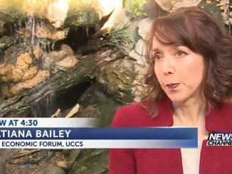 Screenshot of Tatiana Bailey discussing rent prices